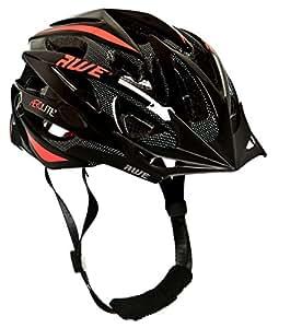AWE® Aerolite™ REMPLACEMENT DE CRASH GRATUIT 5 ANS * Casque de vélo pour homme Taille 56-58 cm Noir/rouge