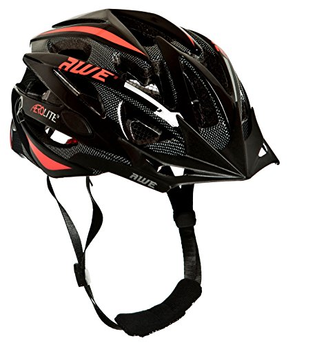 AWE® Aerolite™ In-Mould-Cycle Fahrrad-Sturzhelm 56-58cm CE EN1078 TUV Approvals