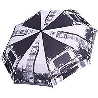 """Rainbrace automatico-Ombrello da viaggio, Super traspirante con stampa a trasferimento termico """""""