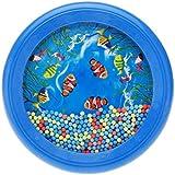 Andoer® La ola oceánica Abalorio tambor Suave Sea Sound Herramienta juguete musical educativo para bebé niño