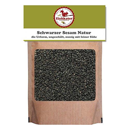 Eichkater Schwarzer Sesam Natur 6er-Pack (6x500 g)