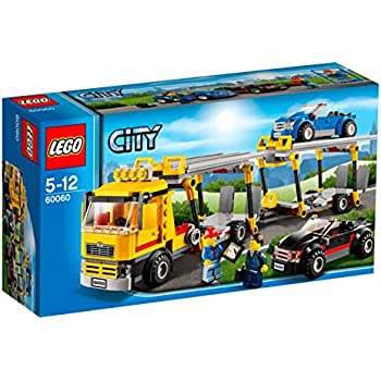 lego city le camion de transport de voitures jeux de. Black Bedroom Furniture Sets. Home Design Ideas