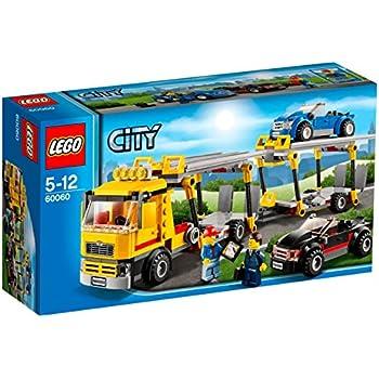 lego city le camion de transport de voitures jeux de construction multicolore 5 ann e s. Black Bedroom Furniture Sets. Home Design Ideas