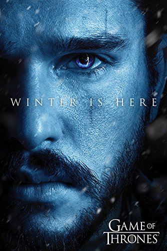 Pyramid PP34200 - Poster con diseño Game Of Thrones Winter Is Here Jo