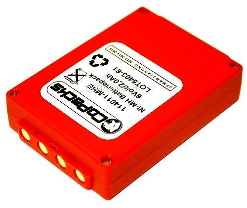 Batterie de rechange hBC fUB5AA fUB05AA fBFUB05 bA205030 de grue 6 v 2,0 ah