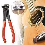 Gitarren-Drahtschneider/Bass-Saitenschneider - großartiges Werkzeug für die meisten Saiten und Bündeldraht - 17,8 cm kompakt