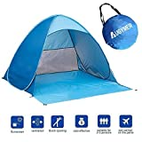 Pop Up Beach Tent, Augymer UV Protection...