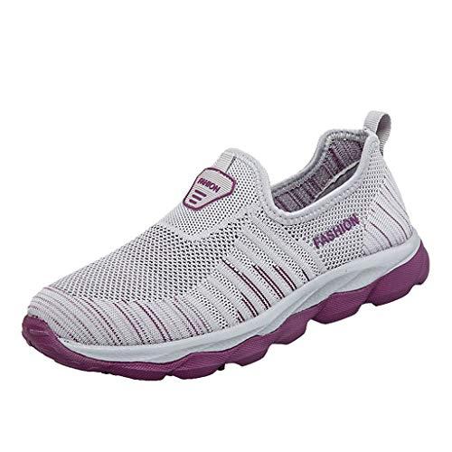 Chaussures Sneakers Femme,OIKAY Chaussures de Marche modèles décontractés modèles Vieilles Chaussures Courir Jogging Trainers Fitness Léger Chaussures décontractées pour Les légères