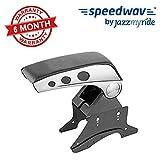 #1: Accedre Stylish Dual Tone Car Armrest Console Black & Chrome for all Cars