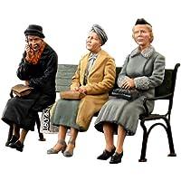 Unbekannt Mini Tipo 38006–Figuras German Sitting Civi lians 30S de 40s