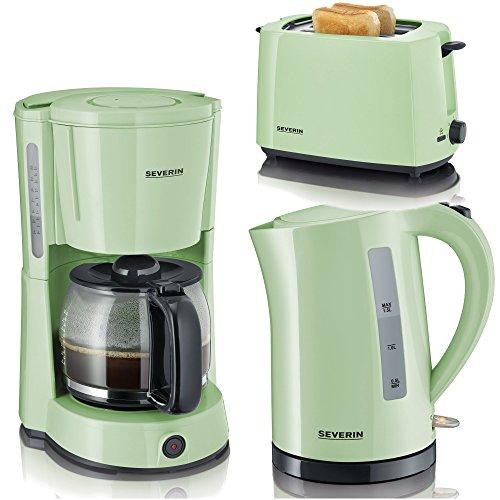 Sev Frühstücksserie im trendigen grün 3 Geräte 1Preis
