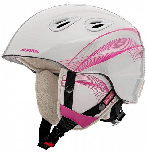 Alpina Kinder Skihelm/Snowboardhelm GRAP 2.0 Jr. Pink (315) S