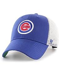 hot sale online 51c44 592d0  47 Brand Chicago Cubs Branson MLB Trucker Cap