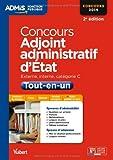 Image de Concours Adjoint administratif d'Etat - Tout-en-un - Catégorie C - Concours 2014
