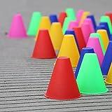 Bazaar Trainingsmarkierungshütchen Slalom Skate Pile Cup-zufällige Farbe