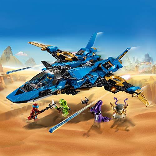 LEGO NINJAGO - Le supersonic de Jay - 70668 - Jeu de construction