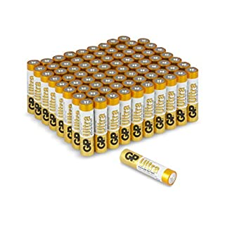 AAA Batteries |Pack of 80|GP Batteries|Superb operating time| 1.5V – Micro – Mini – Penlite – AM4 – LR03 -MX2400 – UM4 – 24A