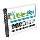 Akku-King Akku für Samsung SGH-D880, D888, D980, W599 - ersetzt AB553850DC, AB553850DE, AB553850DU - Li-Ion 1250mAh