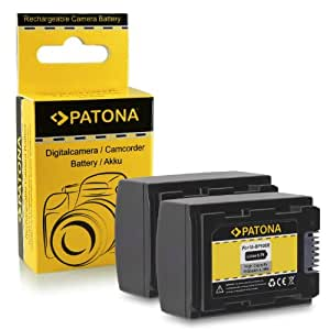 2x Batterie IA-BP105R pour Samsung HMX-F80 | HMX-F90 | HMX-F91 | HMX-F800 | HMX-F810 | HMX-F900 | HMX-F910 | HMX-F920 | HMX-H200 | HMX-H203 | HMX-H204 | HMX-H205 | HMX-H220 | HMX-H300 | HMX-H303 | HMX-H304 | HMX-H305 | HMX-H320 | HMX-H400 | HMX-H405 | SMX-F40 | SMX-F43 | SMX-F44 | SMX-F50 | SMX-F53 et bien plus encore...