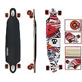 VINGO® Skater Longboard Street Freeride Longboard