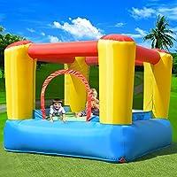 Costway Inflatable Bouncy Castle Outdoor Garden Kids Jumper House Activity Playground (Type 1)
