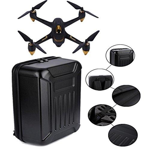 MMLC Schwarz ABS Hard Shell Rucksack Tasche für Hubsan X4 H501S Quadcopter (a)