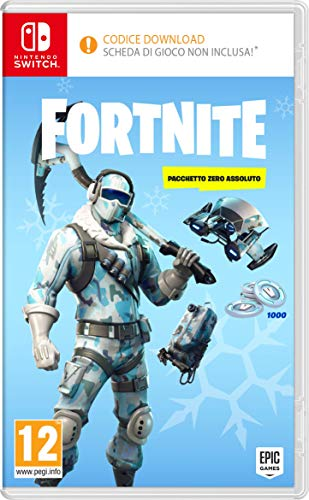 Fortnite: Absolute Zero Package - Nintendo Switch [Código digital en el paquete]