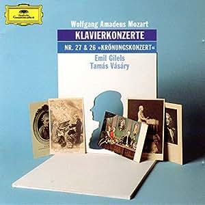 Mozart-Gilels/Vasary-Concertos pour Piano 27 et 26