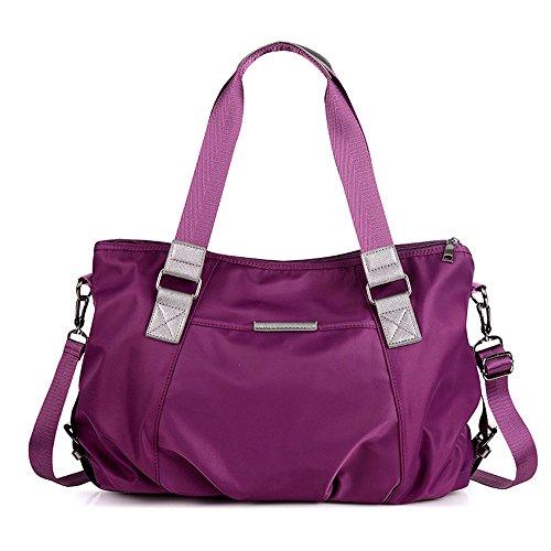 Anne, Borsa a spalla donna nero purple purple