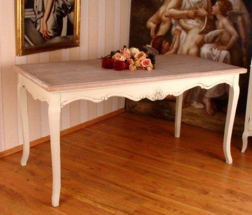 Großer Esstisch, Küchentisch, Holztisch, Tisch, Esszimmertisch aus Holz im zeitlosen Landhausstil, hochwertige Verarbeitung - Palazzo Exclusive
