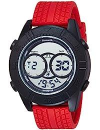 Sonata Ocean Stormer Digital Grey Dial Men's Watch - 77038PP02