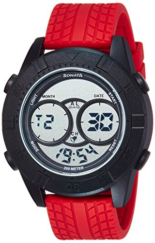 51zX 3ct1wL - Sonata 77038PP02 Men watch