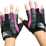 Gewichtheber-Handschuhe für Frauen,Sport & Fitness, für Fitnessstudio und Cross-Training–von Nordic Lifting, rose, S