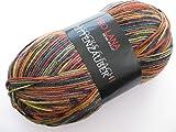 Pro Lana Sockenwolle 6-fach Hüttenzauber, 150gr., Farbe 06803