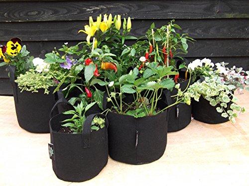 5 x Pot hogger – de haute qualité – Pot de fleurs d'aération – 38 L