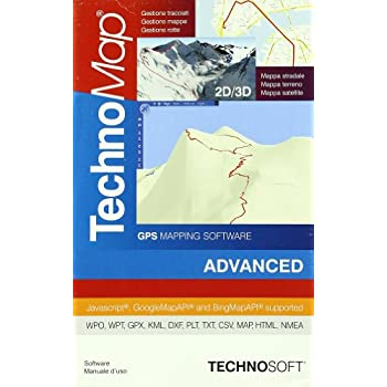 Technomap 2D/3D Gps. Advanced