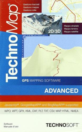 Technomap 2D/3D GPS.