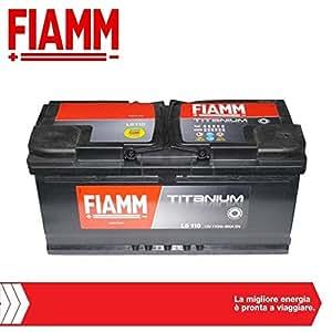 Batterie démarrage fiamm 12v 110ah 950a
