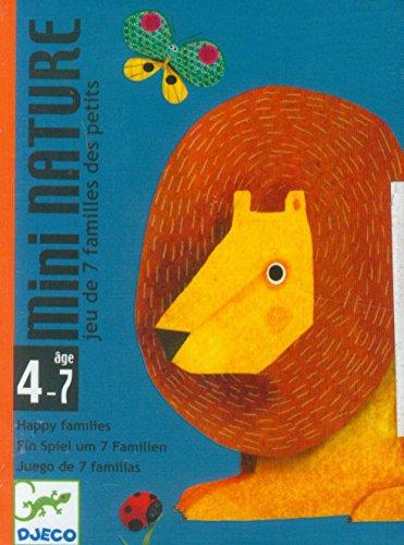 Djeco- Juegos Cartas Mini Nature, (36)