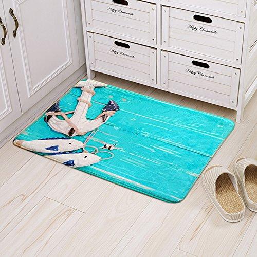 Felpudos Frikis Óleo Serie Felpudo Felpudos Salón Dormitorio felpudos antideslizantes,E,60*90cm.