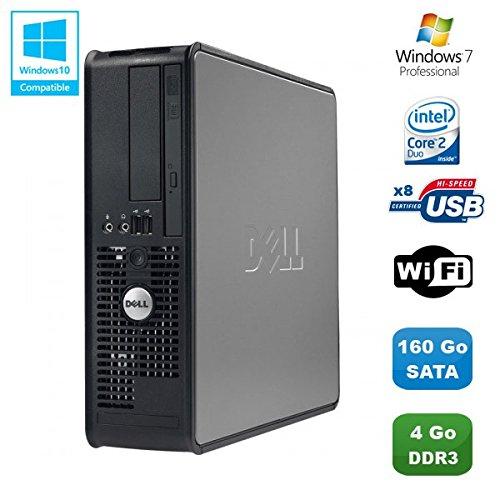 PC Dell Optiplex 780 DT Core 2 Duo E7500 2,93 GHz 4 GB DDR3 160 GB Win 7 Pro (780-desktop Dell)