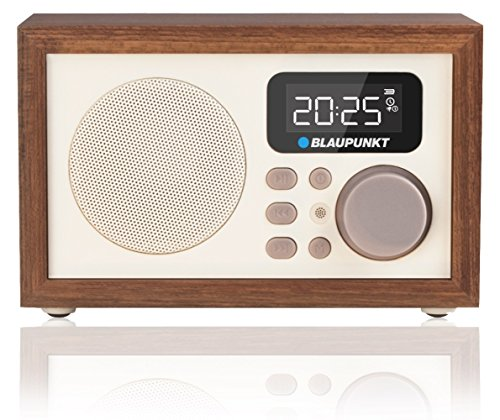 Blaupunkt HR5BR Radiowecker (MP3, microSD, USB, AUX, LCD-Display, Remote Control)