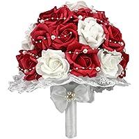 Nesno Bouquet PE holding della sposa Fiore
