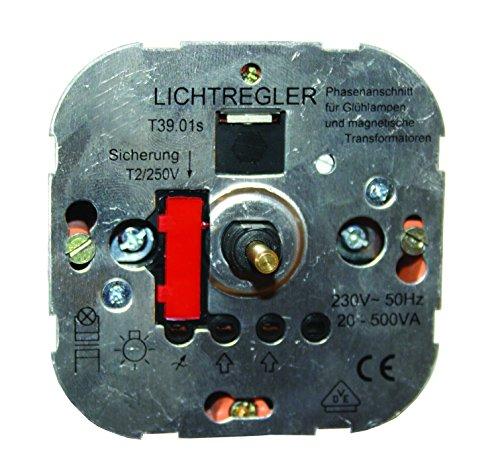 Unterputzdimmeinsatz 20-500W für LED Pendelleuchte Saturn -