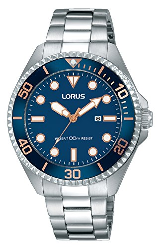 Lorus Men's Analogue Quartz Watch with Stainless Steel Strap RJ233BX9