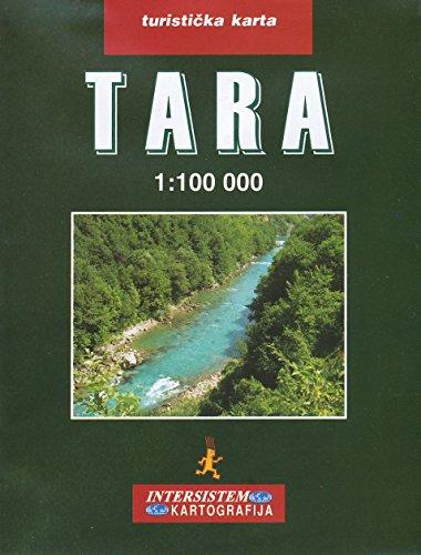 Tara Canyon, Durmitor (Monténégro) 1: 100.000 Carte de randonnée Intersistem