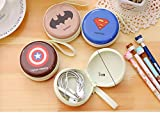 MOCA The HEROs (Pack of 2) Metal Tin Case Pouch For Earphone Pouch Case Bag Coins Memory Card Pouch Pendrive Bag Pouch box Case Jewllery Box Pouch Bag Case Wallet Pouch Mini Purse Accessories kit pouch box organizer gift for womens girls ladies gifts for womens girls Organisers.