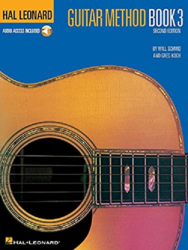 Hal Leonard Guitar Method Book 3: Book/Online Audio [With CD] (Hal Leonard Guitar Method (Audio)) por Will Schmid