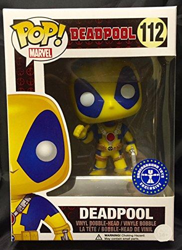 (FunKo pdf00005599–Pop–Marvel–Deadpool–Yellow Kostüm 112–Schwarz/Grau)