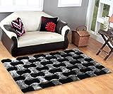 #4: HOMECRUST 2D Shaggy Fur Carpets for Home Living Room/Rugs - 5 x 7 Feet